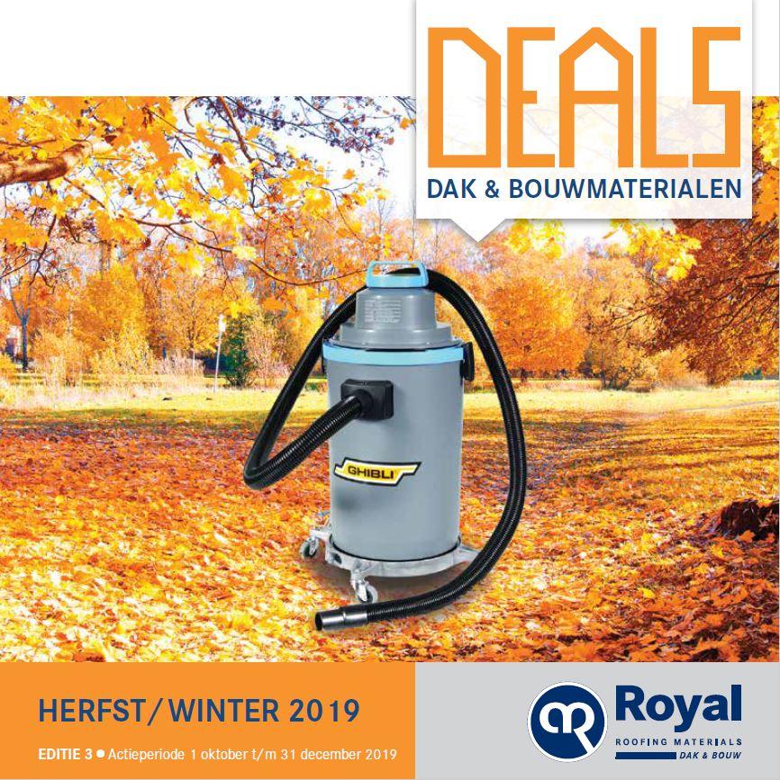 Royal deals 2 | Winterkorting op dakbedekking en dakmaterialen |Royal Roofing Materials