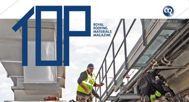 TOP magazine 3 - 2019 het vakblad voor elke dakdekker, installateur en aannemer  | Royal Roofing Materials