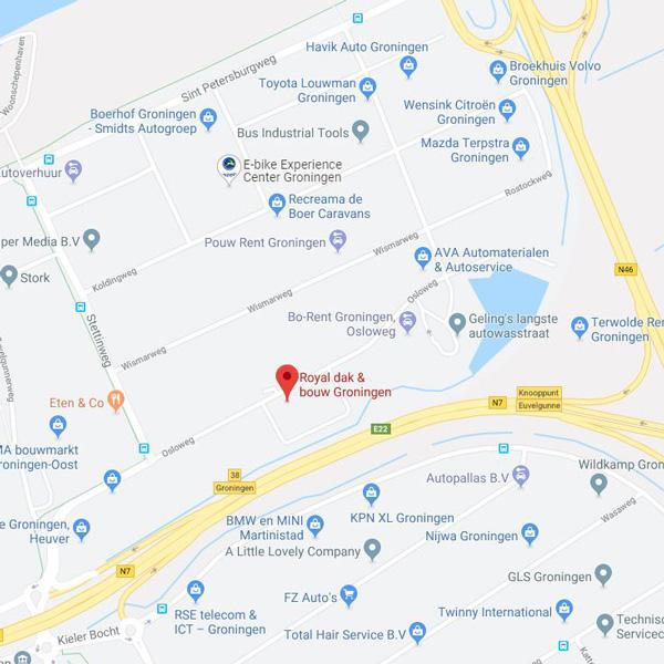 Royal dak & bouw Groningen | Adres: Osloweg 135, 9723 BK Groningen | Tel: 050 547 4960