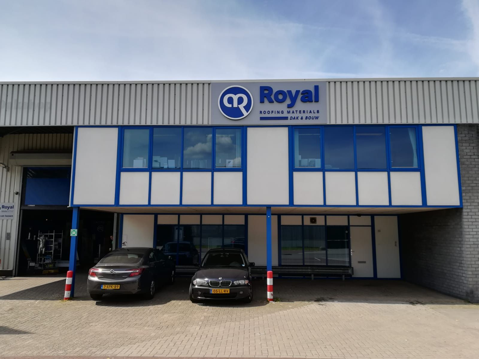 Royal dak & bouw materialen shop Amsterdam
