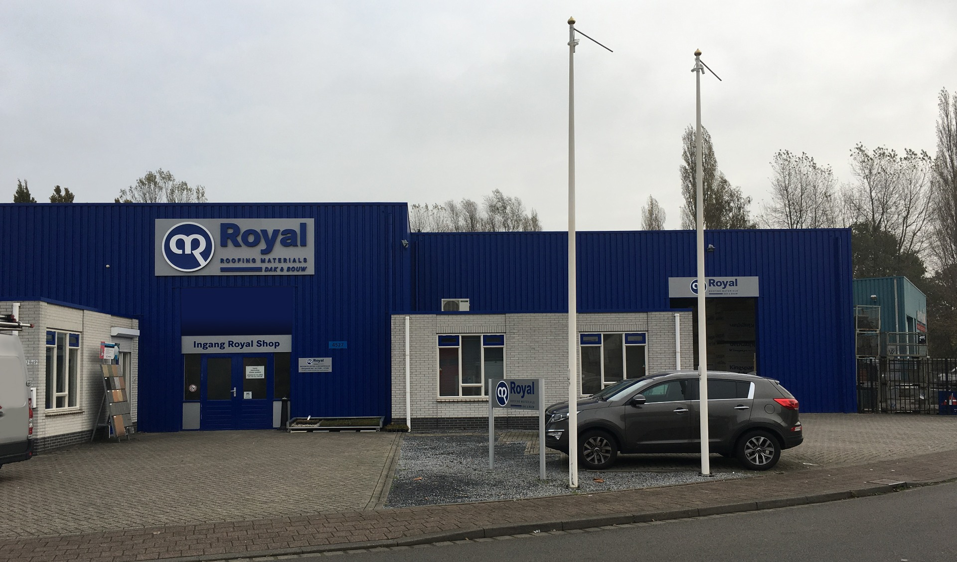 Royal dak & bouw materialen shop Breda