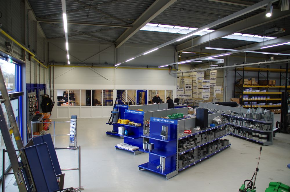 Royal dak & bouw materialen shop Groningen
