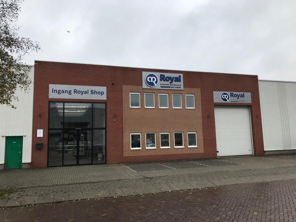 Royal dak & bouw materialen shop Arnhem