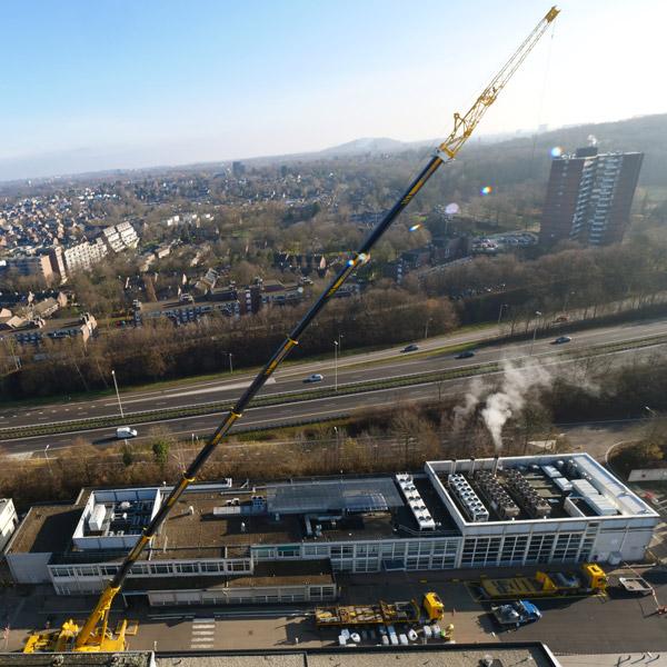 Dakrenovatie Zuiderland Ziekenhuis | Royal Roofing Materials