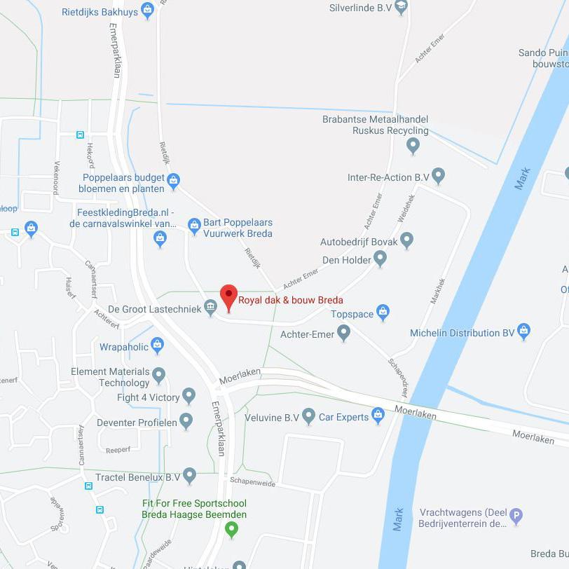 Routebeschrijving Royal Breda