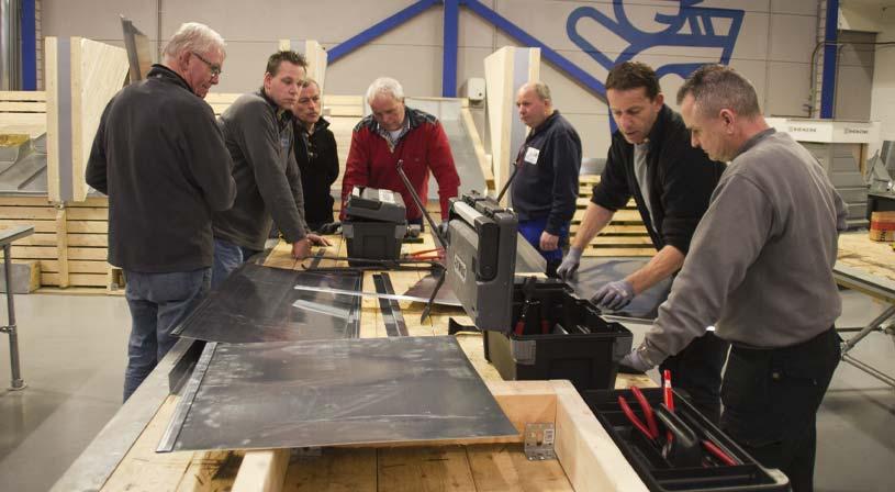 Zink cursus volgen? Leer zink verwerken op verschillende niveaus | Royal Roofing Materials