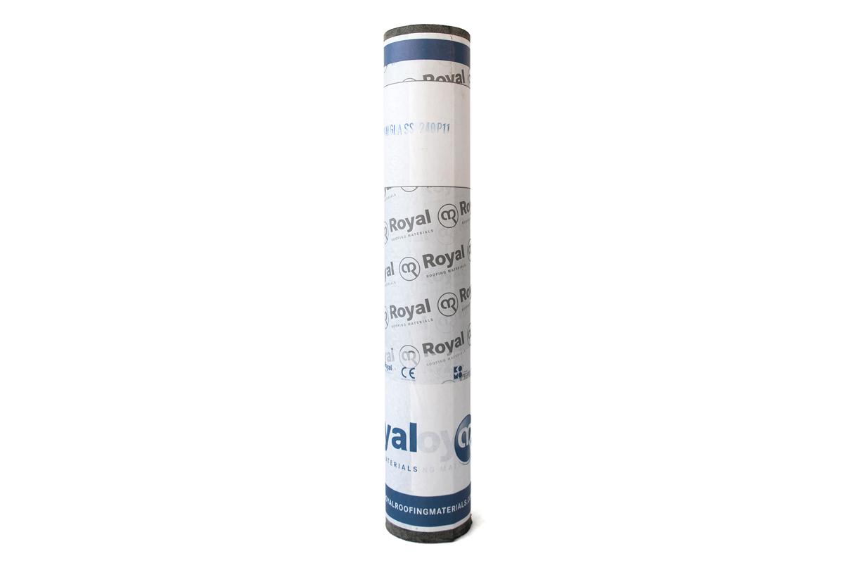 Glasvlies onderlagen van Royalglass voor bitumen daken | Alle soorten top- en onderlagen dakbedekking | Royal Roofing Materials