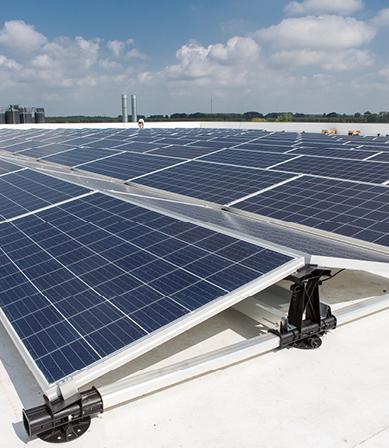 Maximaal rendement uit zonnepanelen?