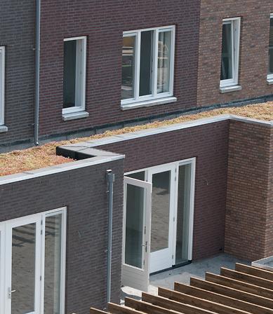 Groendak voor 18.000 woningen in nieuwbouwwijk IJburg