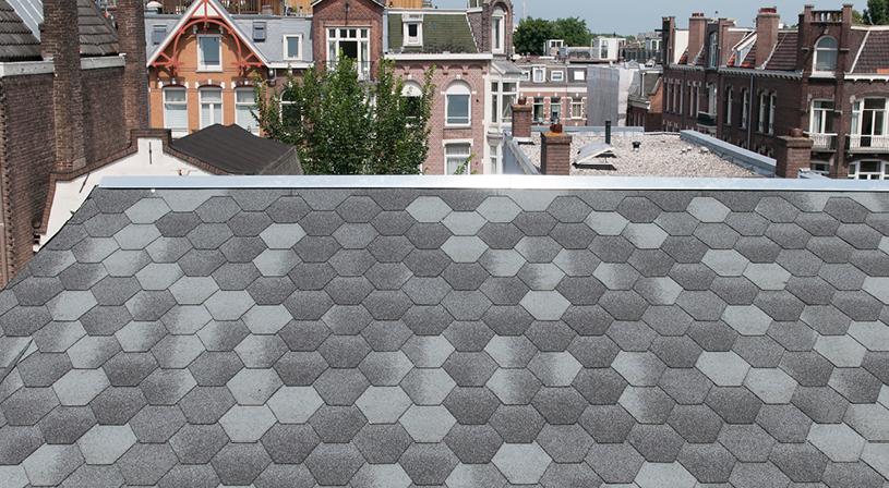 Shingles monumentaal pand Amsterdam