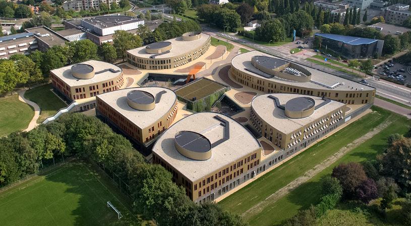 Warmdak nieuwbouwproject Heerlen