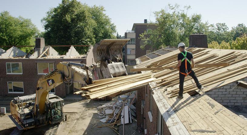 Circulair bouwen met reclaimed hout