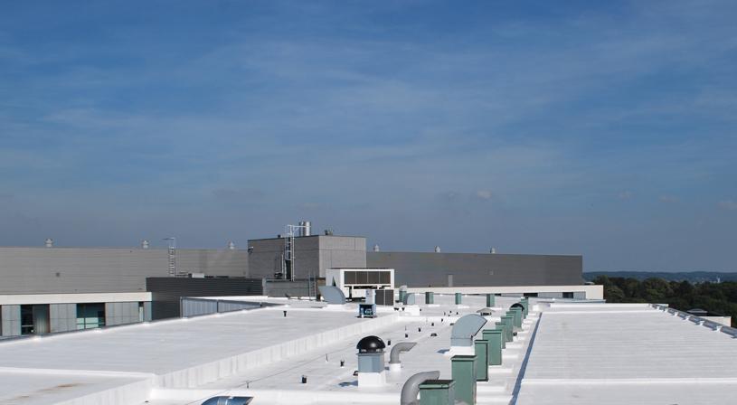 Vloeibare brandveilige dakbedekking van Alsan