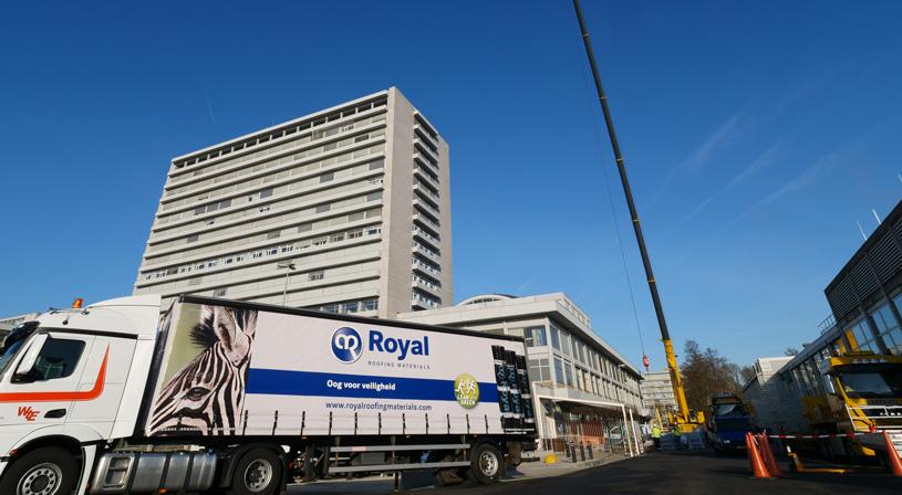 Dakrenovatie Zuiderlandziekenhuis: een complexe operatie