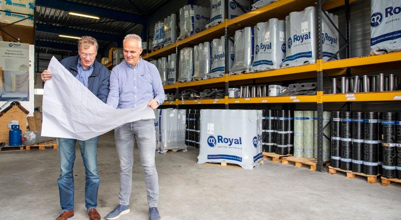 Op bezoek bij Pieter van Royal dak & bouw Leeuwarden