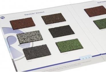 Dak shingles voor licht hellende daken | Bitumen dakbedekking | Royal Roofing Materials