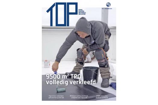 TOP magazine 2 - november 2020 het vakblad voor elke dakdekker, installateur en aannemer  | Royal Roofing Materials