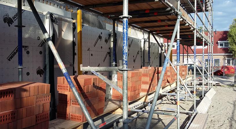 Veelzijdige spouwmuurisolatie voor gevel, muur en vloer | Sopratherm Alu | Royal Roofing Materials