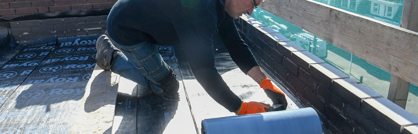 Bitumen dakbedekking zelfklevend | Royalstick Base & Edge | Royal Roofing Materials