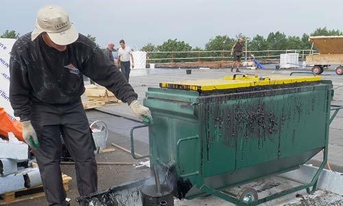 Bitumenketel voor dakbedekking | Royal Roofing Materials