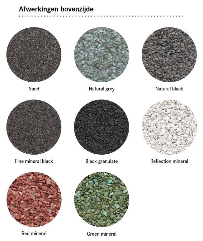 Verschil tussen bitumen 470K14 en 470K24 | Royal Roofing Materials