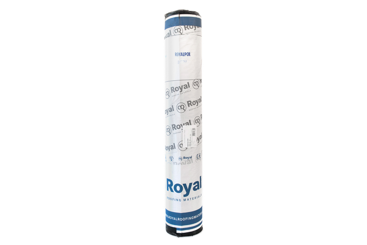 Royalpol gebitumineerde polyester onderlaag voor bitumen daken | Top- en onderlagen voor dakbedekking | Royal Roofing Materials