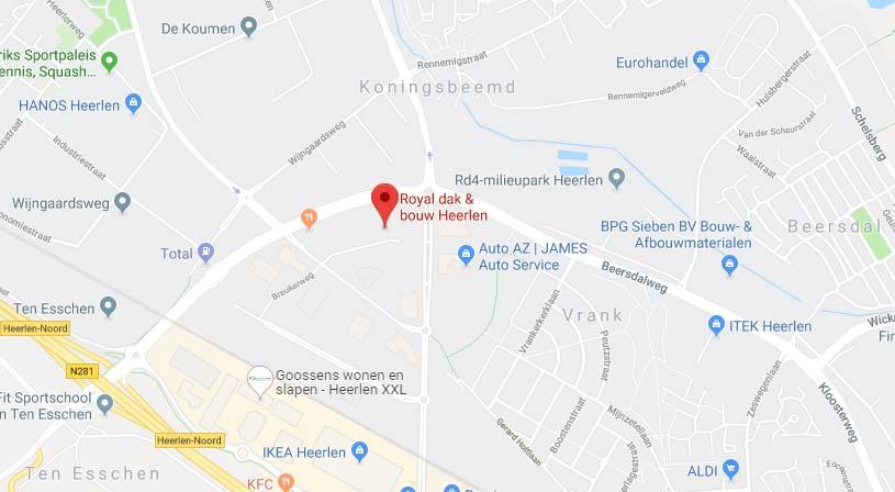 Royal dak & bouw | Adres: Breukerweg 194, 6412 ZL Heerlen | Tel: 045 522 4250