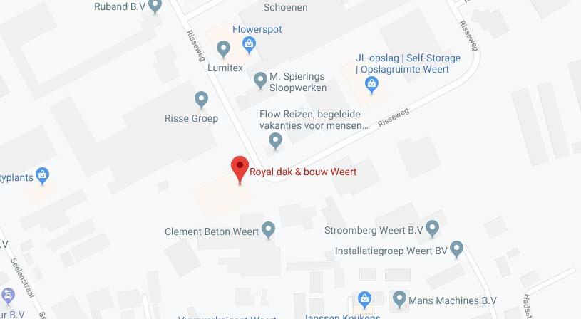 Royal dak & bouw Weert | Adres: Risseweg 10, 6004 RM Weert |0495 536 310