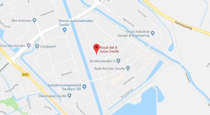 Royal dak & bouw Zwolle | Adres:Conradstraat 8, 8013 RN Zwolle | Tel: 038 465 6654